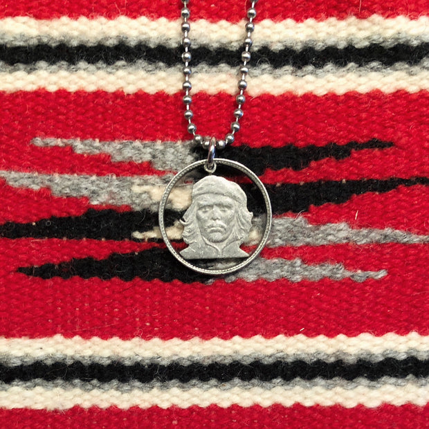 "A TSY Hand-Cut Ernesto ""Che"" Guevara Coin Pendant Necklaces, Jewelry, FINAL SALE!"