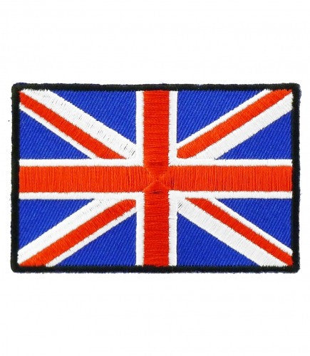 "A ""UNION JACK FLAG"" 3"" x 2"" WOVEN PATCH, ACCESSORIES"