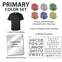 Black Adult T-shirt Kit