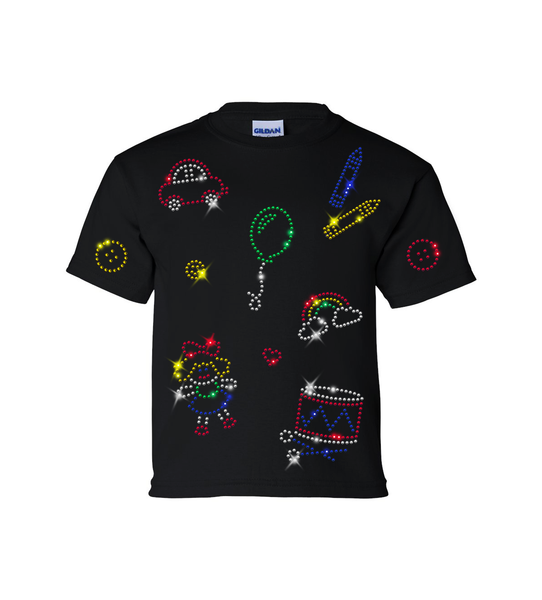 Black Youth T-shirt Kit