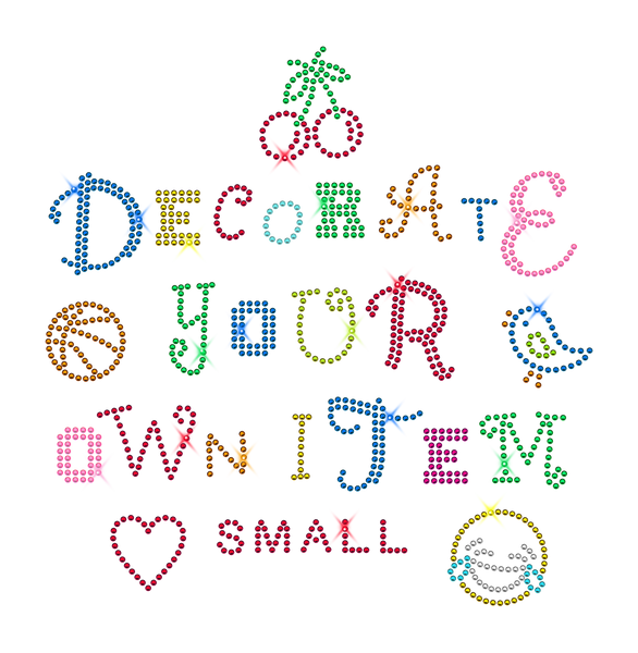 Decorate Your Own Item Kit: Small