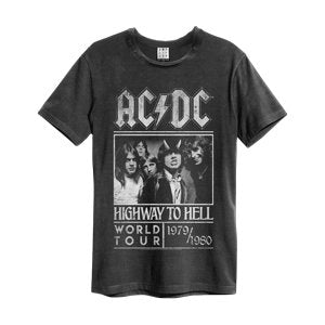 T-SHIRT ACDC HIGHWAY TO HELL POSTER