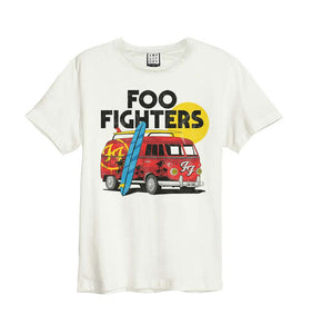 T-SHIRT FOO FIGHTERS CAMPER VAN
