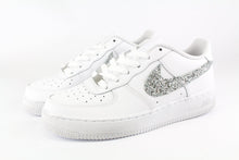 Load image into Gallery viewer, NIKE AIR FORCE GLITTER ARGENTO
