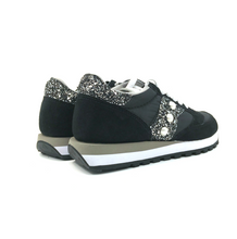 Load image into Gallery viewer, SAUCONY JAZZ NERE GLITTER BLACK SILVER