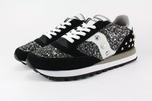 Load image into Gallery viewer, SAUCONY JAZZ NERA GLITTER BLACK SILVER PERLE E BORCHIE