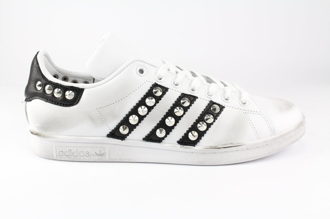 STAN SMITH BANDE NERE E BORCHIE