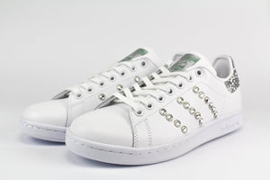 STAN SMITH TALLONE ARGENTO E STRASS
