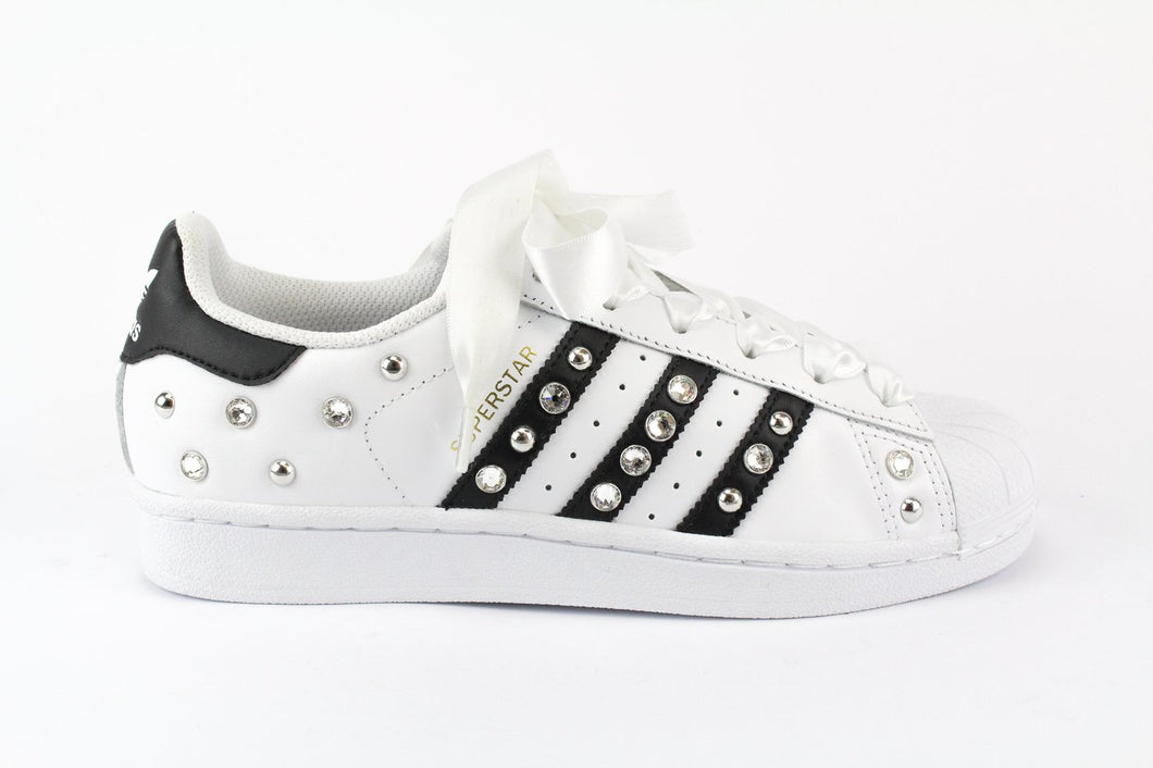 SUPERSTAR BW STRASS E BORCHIE TONDE