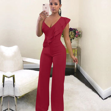 Elegant Off shoulder High Waist jumpsuit