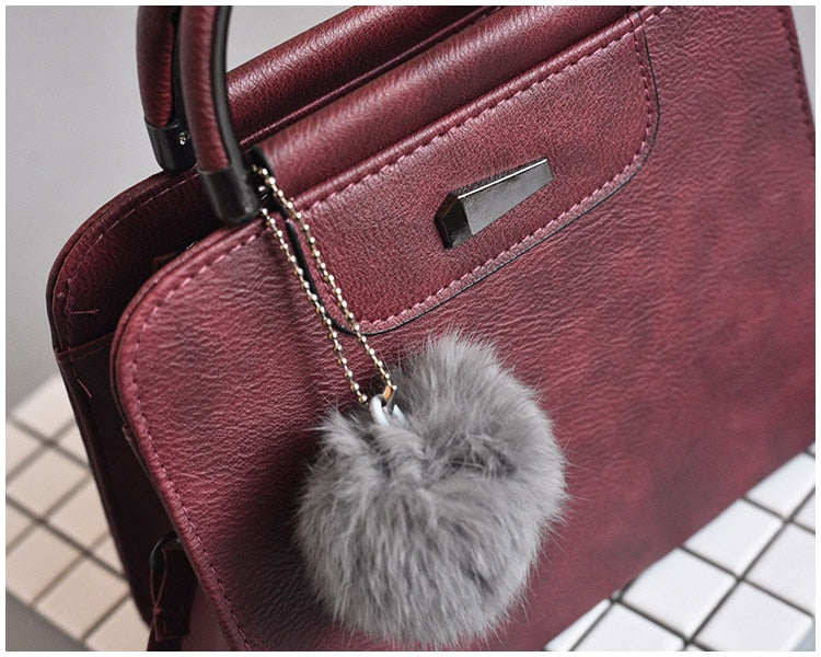 Leather Bag Shoulder handbag