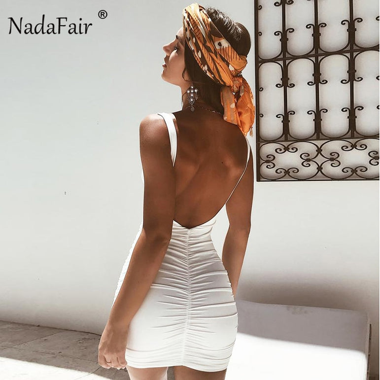 Backless Bodycon Club Party Dress