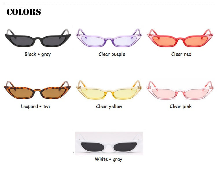 Superstar Female Lady Eyeglass Cat Eye