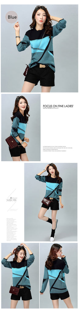 Sweater Pullover Round Neck For Women