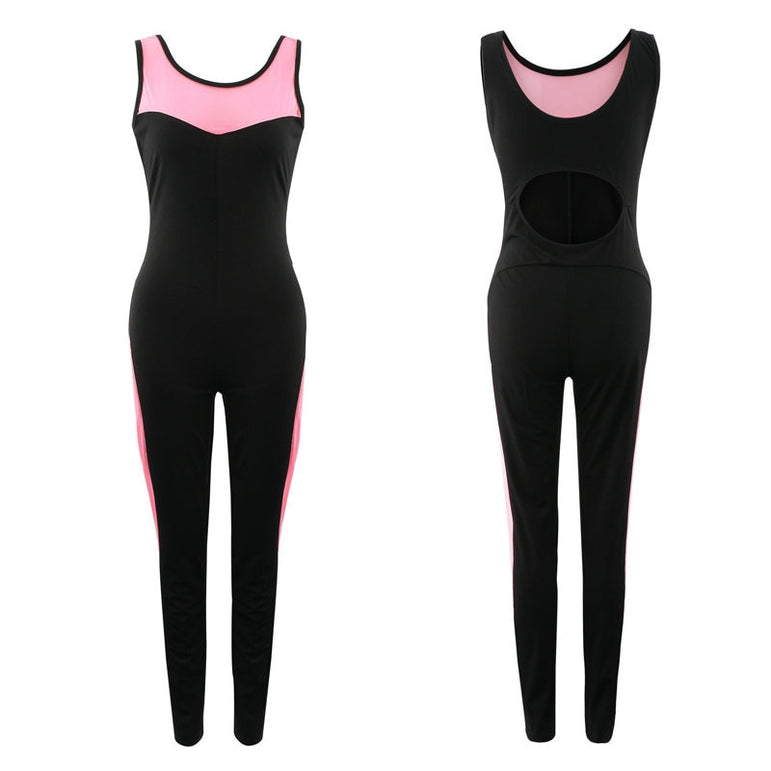 Sexy Yoga suit one piece sport wear