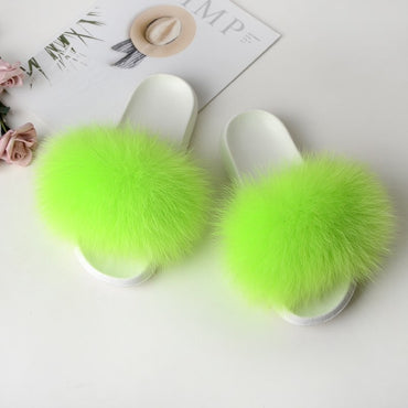 Flip Flop Furry Slipper