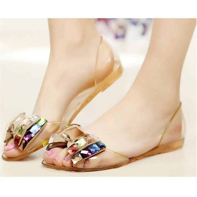Summer Jelly Shoes flat Sandal