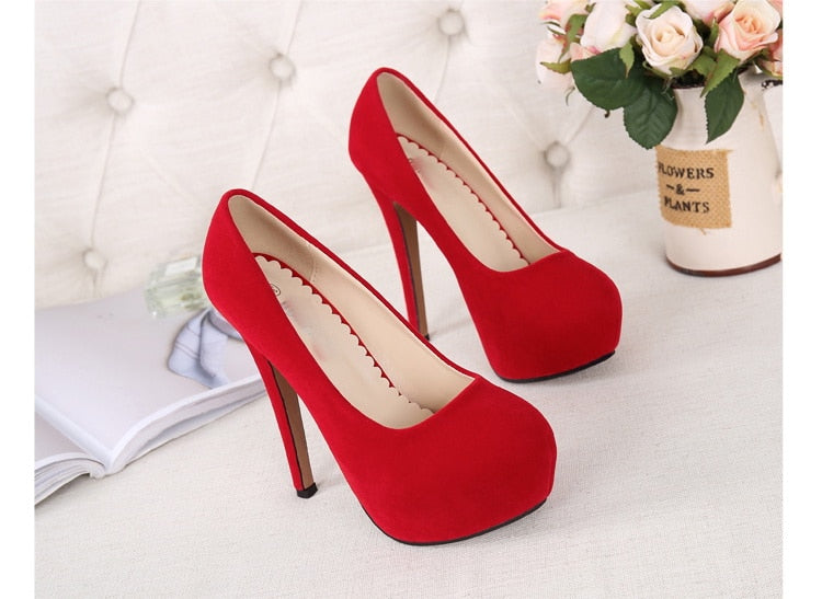 High Heels Pumps Plus Size Sandals