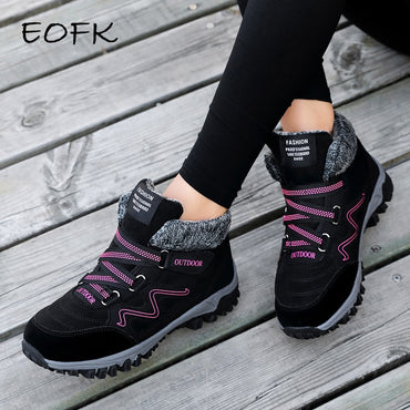 Snow Sneakers For Women in winter