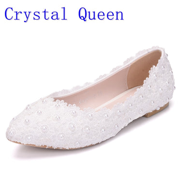 Wedding Shoes Flat Heel Casual Shoes