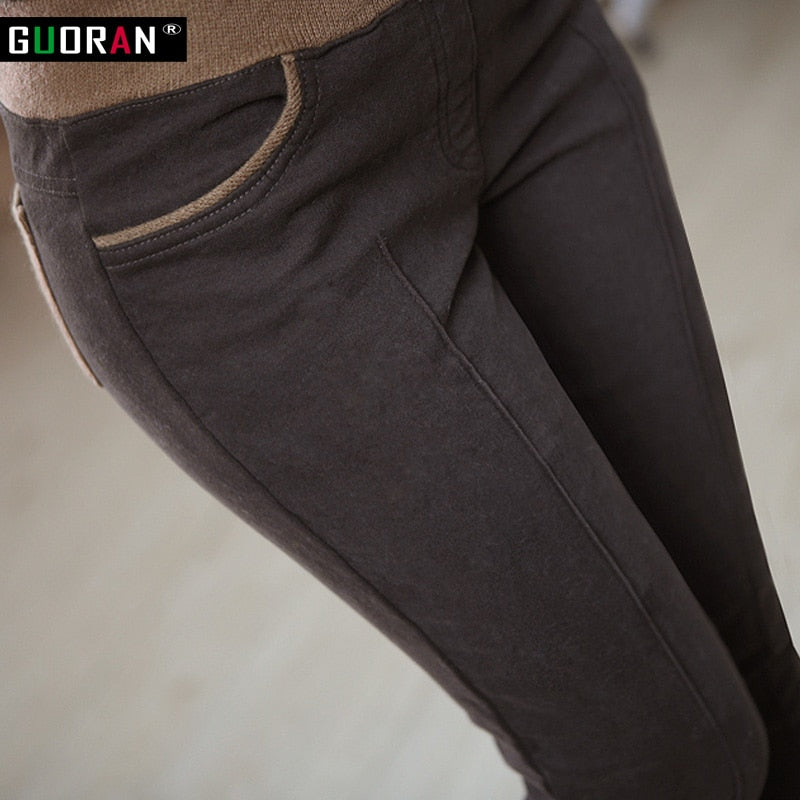waist casual cotton pants