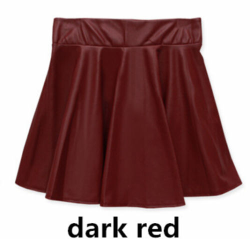Leather Mini Skirt For Ladies