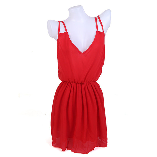 Beach Chiffon Summer Dress