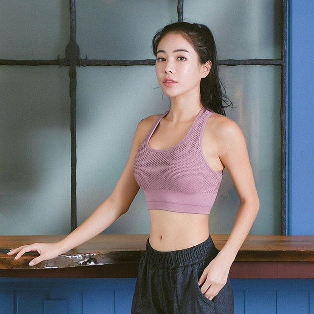 Yoga Bra Breathable Fitness Tank