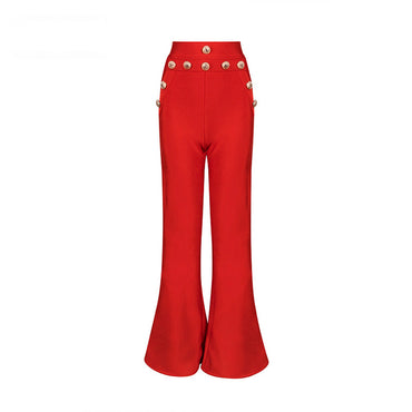 New Summer Flare Pants Women Sexy