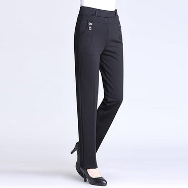 High Waist Casual Women Pants