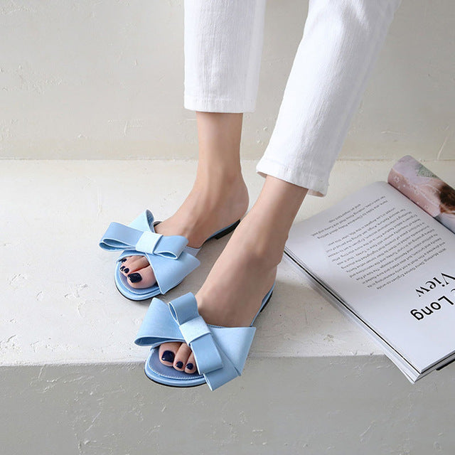 High heel  flat slippers platform