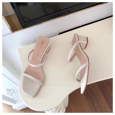 Slipper Low Heel Sandal