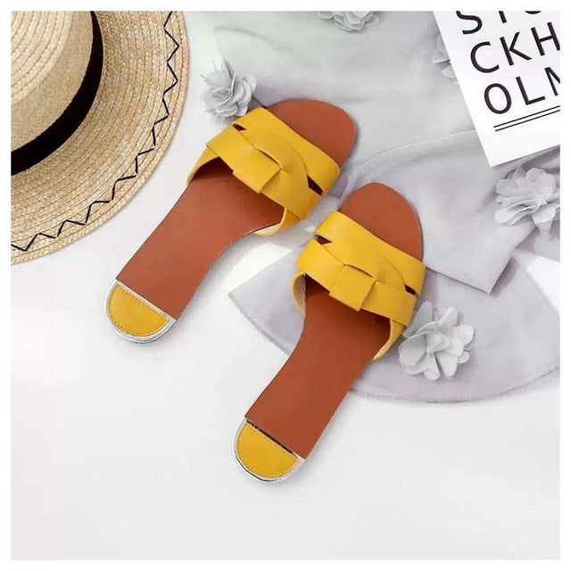 Flip Flop Beach Round Toe Slipper
