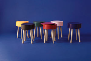 Piilo Stool, ink blue
