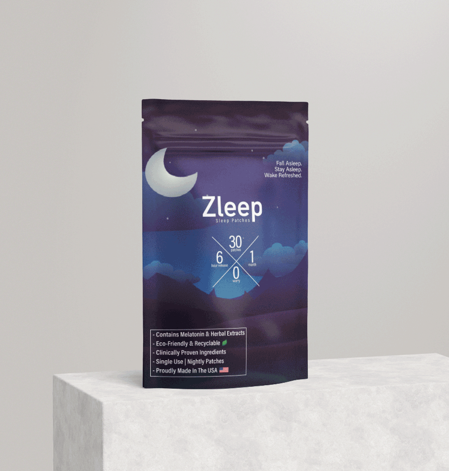 Zleep All-Natural Sleeping Patches (7-Pack, Save 60%)