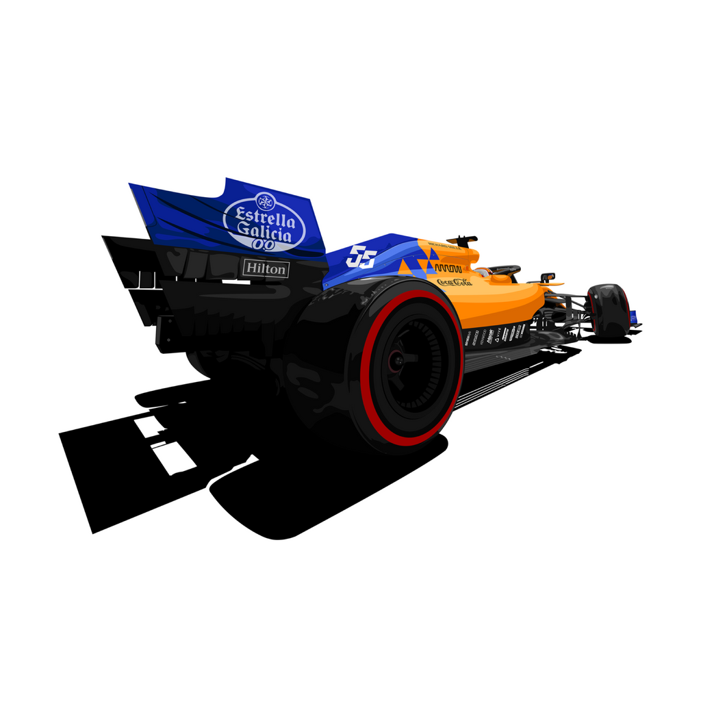 MCL34 PRINT BY: ABEL TOTH DESIGN - Motorsport Society