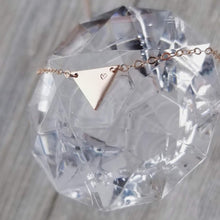 Load image into Gallery viewer, Tia Triangle necklace