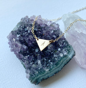 Tia Triangle necklace