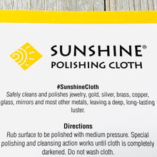 Load image into Gallery viewer, Sunshine® Polishing Cloth