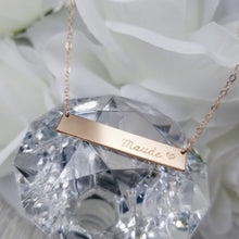 Load image into Gallery viewer, Avery Bar necklace