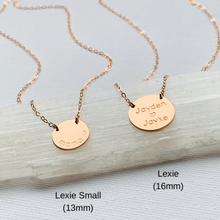 Load image into Gallery viewer, Mini Lexie necklace
