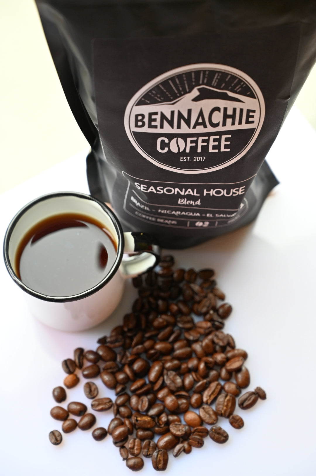 BENNACHIE COFFEE HAS BEEN PROVIDING NORTH-EAST CONSUMERS WITH GREAT TASTING COFFEE SINCE ITS INCEPTION