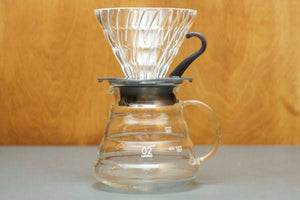 Hario V60 Glass Coffee Brewing Set 02