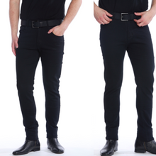 Afbeelding in Gallery-weergave laden, 2 x De Perfecte Jeans: Grey Denim + Black