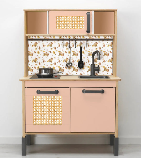 How to add a splashback to the Ikea Duktig play kitchen