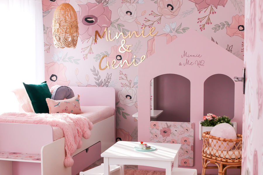 Minnie and Genie's Playroom Reveal