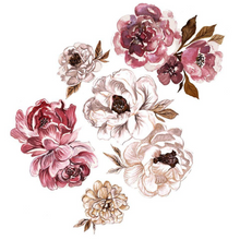 Load image into Gallery viewer, Eloise Peony Decals