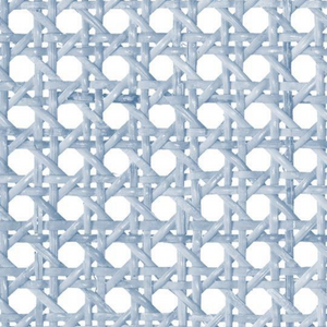 Faux Rattan Soft Blue for Hacks and Dollhouses