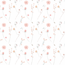 Load image into Gallery viewer, Bouquet White | Removable PhotoTex Wallpaper