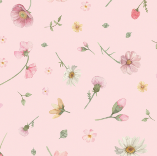 Flower Wall Pink